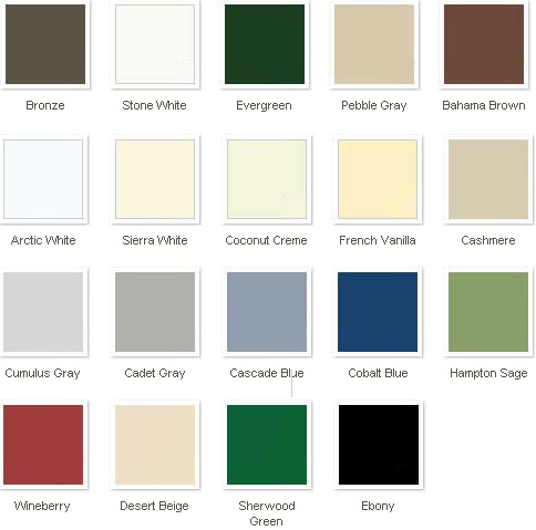 Charming Andersen Color Chart