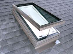 Central coast door window for Velux skylight remote control